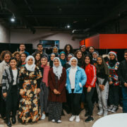Arab American teens in the Center for Arab American Philanthropy's Teen Grantmaking Initiative.