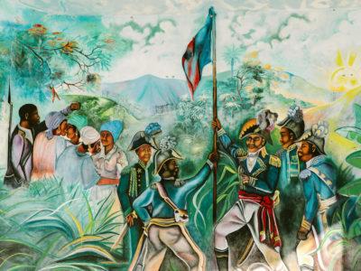 Haiti mural