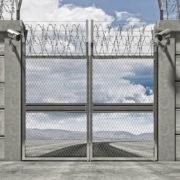 Penitentiary gate