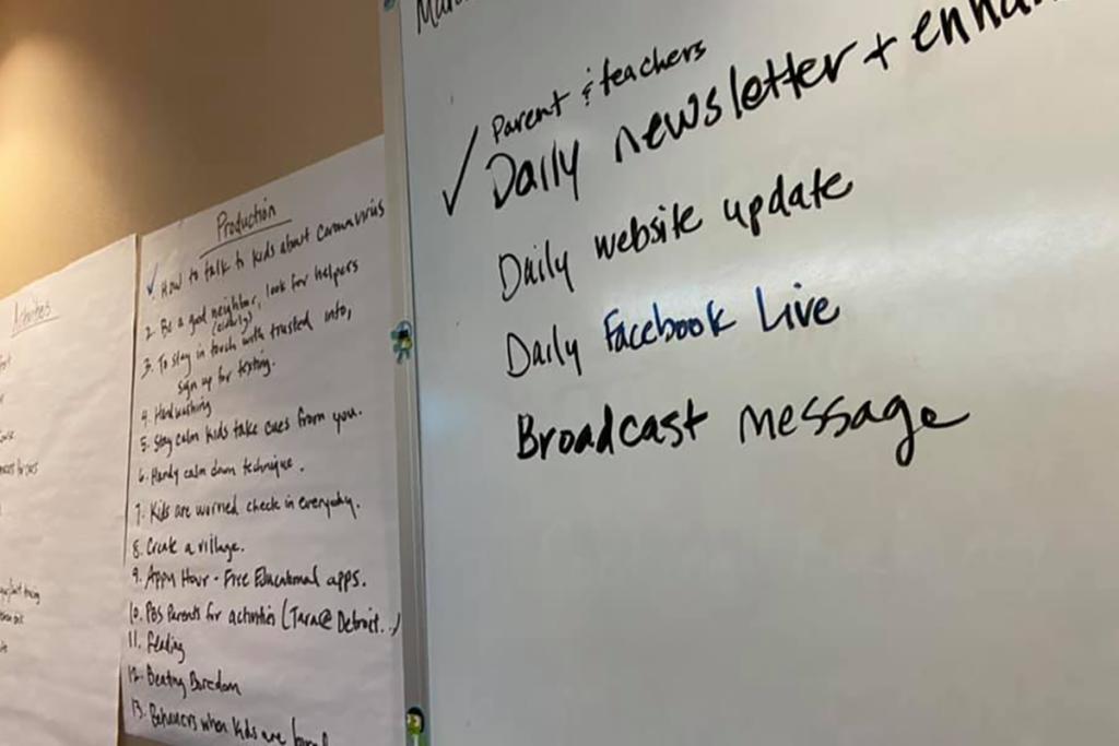 DPTV whiteboard