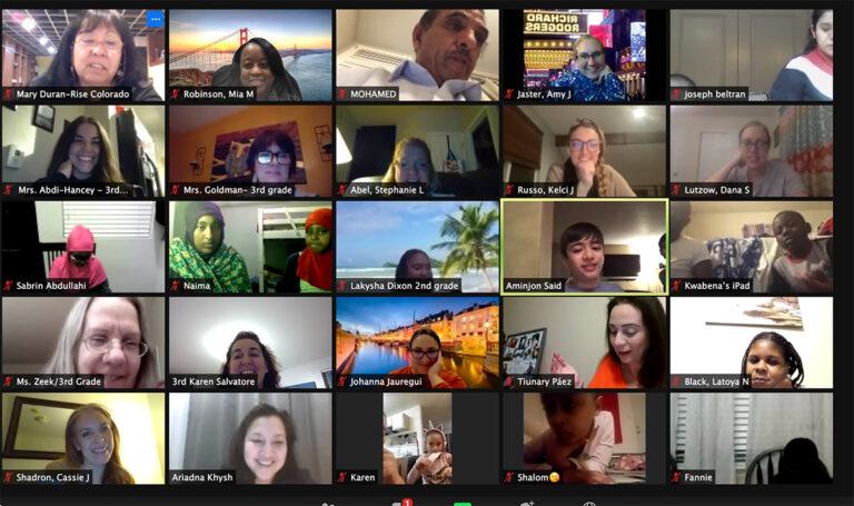 Holistic family engagement goes virtual